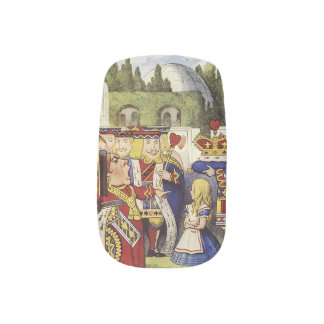 Alice in wonderland nails minx ® nail art