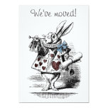 "Alice in Wonderland New Home Announcement Card 5"" X 7"" Invitation Card"