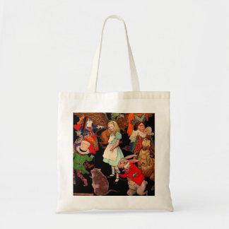 Alice in Wonderland Newell Tote Bag