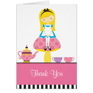 Alice in Wonderland Note Card Greeting Cards