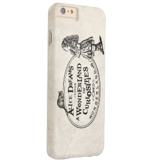 Alice In Wonderland of Curiousities W/Cheshire Cat Barely There iPhone 6 Plus Case