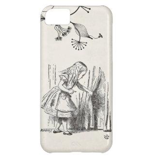 alice in wonderland old paper background iPhone 5C case