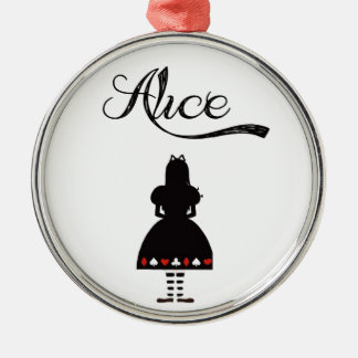 Alice In Wonderland Christmas Ornament