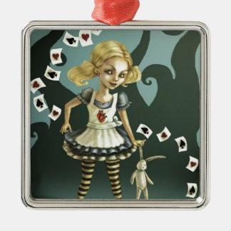 Alice in Wonderland Christmas Tree Ornaments