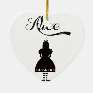 Alice In Wonderland Christmas Tree Ornament