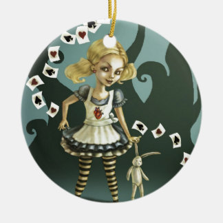 Alice in Wonderland Christmas Tree Ornament
