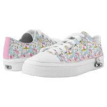 Alice in Wonderland | Oversized Pattern Low-Top Sneakers