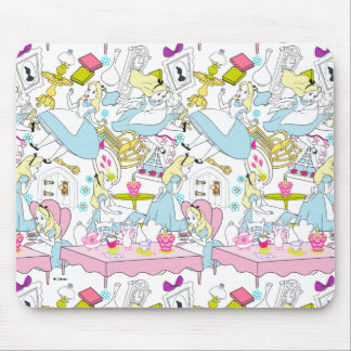 Alice in Wonderland | Oversized Pattern Mouse Pad