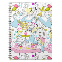 Alice in Wonderland | Oversized Pattern Notebook