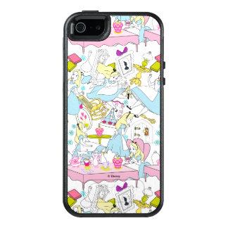 Alice in Wonderland | Oversized Pattern OtterBox iPhone 5/5s/SE Case
