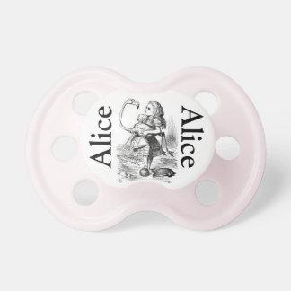 Alice in Wonderland Pacifier Girls BooginHead Pacifier