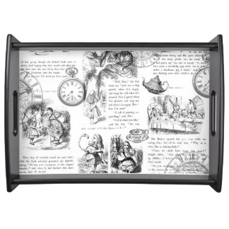 Alice in Wonderland pages tray
