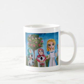 ALICE IN WONDERLAND PAINTING by Gordon Bruce Mugs