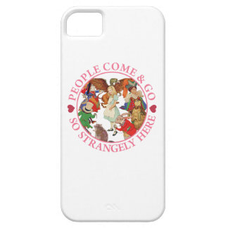 Alice in Wonderland - People Come and Go iPhone SE/5/5s Case