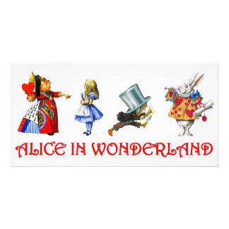 ALICE IN WONDERLAND PHOTO CARD