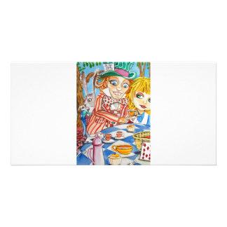ALICE IN WONDERLAND PHOTO GREETING CARD