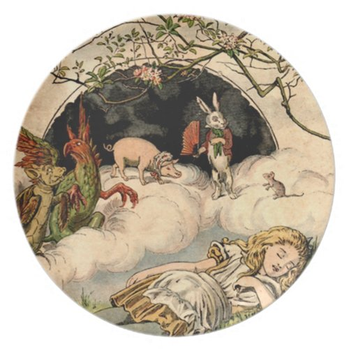 Alice in Wonderland Plate plate