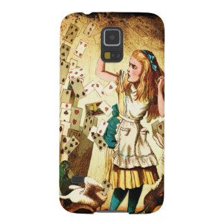Alice in Wonderland Playing Cards Galaxy S5 Cover