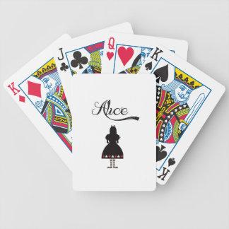 Alice In Wonderland Card Deck