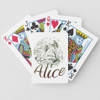 Alice in Wonderland Poker Deck