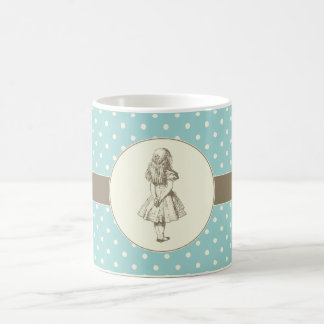 Alice in Wonderland Polka Dots Coffee Mug
