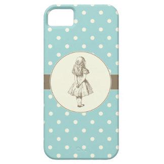 Alice in Wonderland Polka Dots iPhone SE/5/5s Case