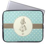 Alice in Wonderland Polka Dots Laptop Sleeve