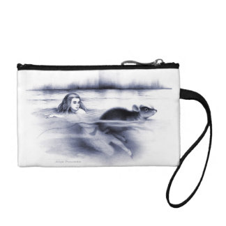 Alice in Wonderland Pool of Tears door mouse Coin Purse
