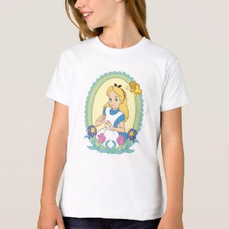 Alice in Wonderland Portrait Disney T-Shirt