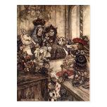 Alice In Wonderland Post Card