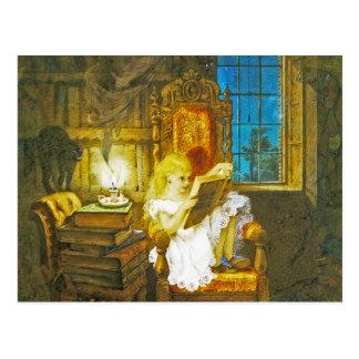 """Alice in Wonderland Postcard:  """"Wonderland"""""""