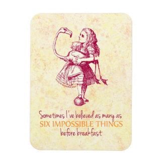 Alice in Wonderland Rectangle Magnets