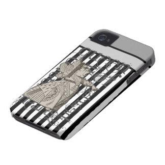 Alice In Wonderland Queen of Hearts Grunge Case-Mate iPhone 4 Cases