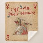 Alice in Wonderland, Queen of Hearts, Sherpa Blanket
