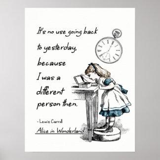 Alice In Wonderland Quote Pleasing Begin At The Beginning