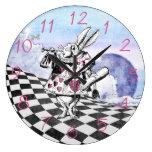 Alice in Wonderland Rabbit Herald Wallclock