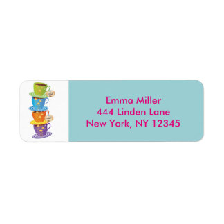 Alice in Wonderland Return Address Labels
