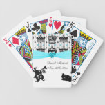 Alice In Wonderland Royal Crowns Baby Shower Bicycle Poker Cards