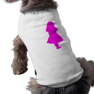 Alice In Wonderland Salmon Fuschia Pink T-Shirt