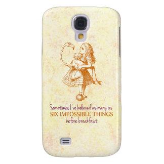 Alice in Wonderland Samsung Galaxy S4 Cover