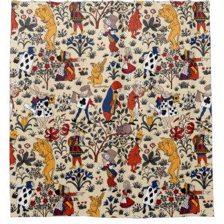 Curtains Ideas alice in wonderland curtains : Alice Wonderland Shower Curtains | Zazzle