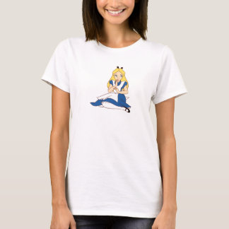 Alice In Wonderland Sitting Down Disney T-Shirt