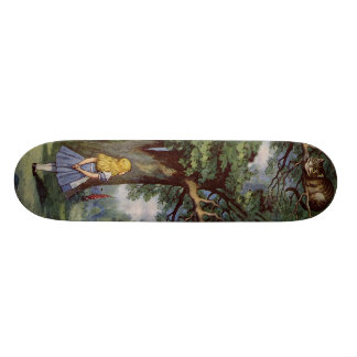 Alice in Wonderland SkakeBoard Pro Skateboard Deck