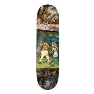 Alice in Wonderland Skate Board