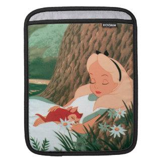 Alice in Wonderland Sleeping iPad Sleeve