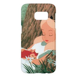 Alice in Wonderland Sleeping Samsung Galaxy S7 Case