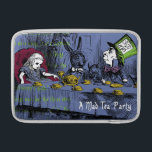 "Alice in Wonderland Sleeve For MacBook Air<br><div class=""desc"">A refurbished vintage book illustration from the original Alice in Wonderland book... would you like some tea?</div>"