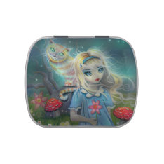 Alice In Wonderland Small Candy Tin at Zazzle