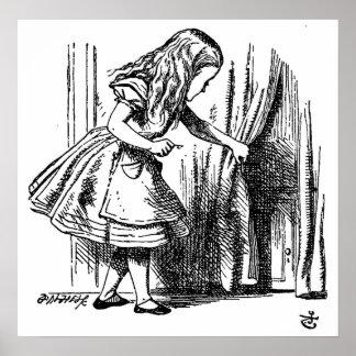 Alice in Wonderland  Small Door to Wonderland Posters