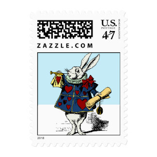 Alice in Wonderland Special Announcement Stamp